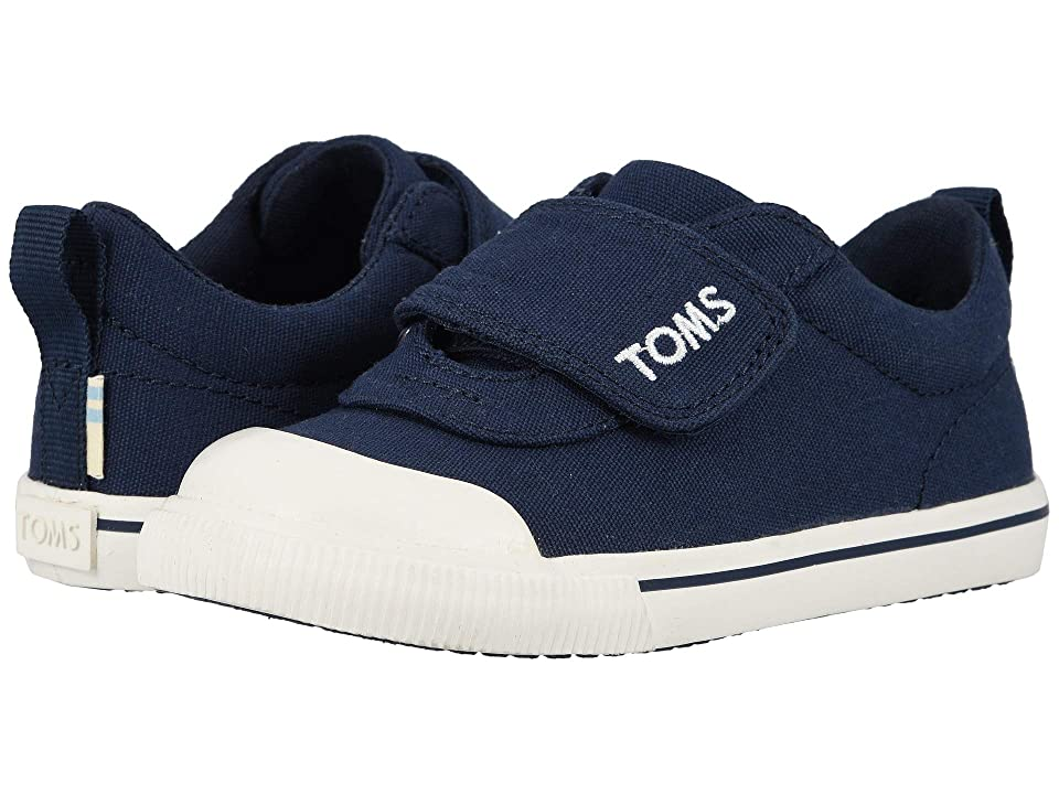 TOMS Kids Doheny Zappos Exclusive (Toddler/Little Kid) (Navy Canvas) Kid