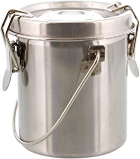 US Art Supply Small Stainless Steel Leak-Proof Deluxe Brush Washer