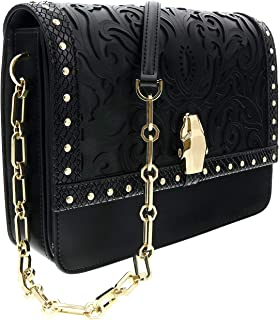 Roberto Cavalli HXLPHB 999 Black Shoulder Bag for Womens