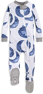 Baby Boys' Unisex Pajamas, Zip-Front Non-Slip Footed...