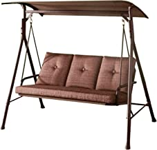 Garden Winds Replacement Canopy Top Cover for The Monterey Swing - Standard 350 - Brown