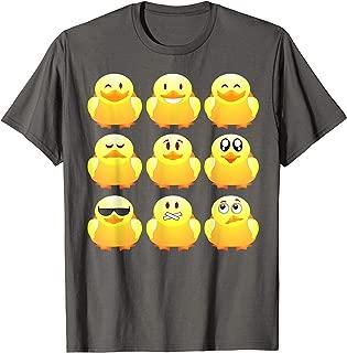 Rubber Ducky Emojis Shirt | Cool Duck Bath Toy T-shirt Gift