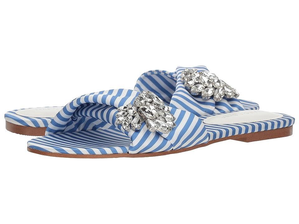 Marc Fisher Gallary 2 (Blue/White Fabric) Women