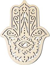 Simurg 11.5 بوصة شبكة خشبية من الكريستال الشكل الهندسي المقدس للتعليق على الحائط منحوت للتأمل، ديكور بليزر, كريستال, 11.5 ...