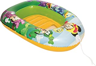 Bestway 91003 - Barca Hinchable Infantil Mickey and the Roadster Racers