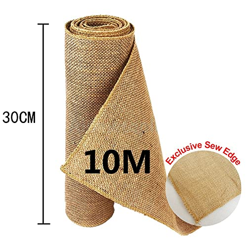 "FREE P/&P 20Mtr Roll of 72/"" wide 10oz hessian* burlap  UPHOLSTERY SUPPLIES"