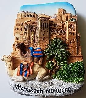 Kasbah of Ait Ben Hadou Marrakech MOROCCO Resin 3D fridge Refrigerator Thai Magnet Hand Made Craft. by Thai MCnets