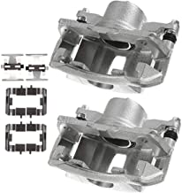 A-Premium Brake Caliper Assembly Compatible with Honda Accord Acura Legend RL TL Front Side 2-PC Set