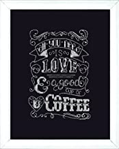 Design Works Crafts Love Chalkboard Counted Cross Stitch Kit, 8 by 10
