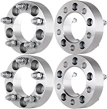 ECCPP 4X 2 Wheel Spacers Adapters 5 Lug 5x5.5/5x139.7 108mm CB 9/16