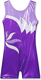 BAOHULU Girl's Leotard for Gymnastics Toddler Biketards Shorts Shirt