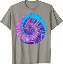 Volleyball Tie Dye Blue Purple Volleyball Lover Gifts T-Shirt