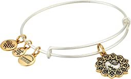 Alex and Ani Two-Tone Zodiac Bangle