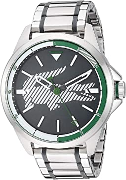 Silver/Green