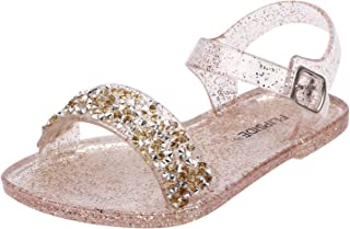 FLIPSIDE Kids Sophia Gold Sandals