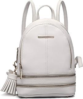Miss Lulu Rucksack Daypack Damen Tasche Umhängetasche Rucksackhandtaschen Pu Leder Wasserdichte Schulrucksäcke Schultasche...