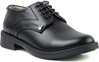 Playboy PB 2505 Leather Formal & Black School Shoe for Boys-P