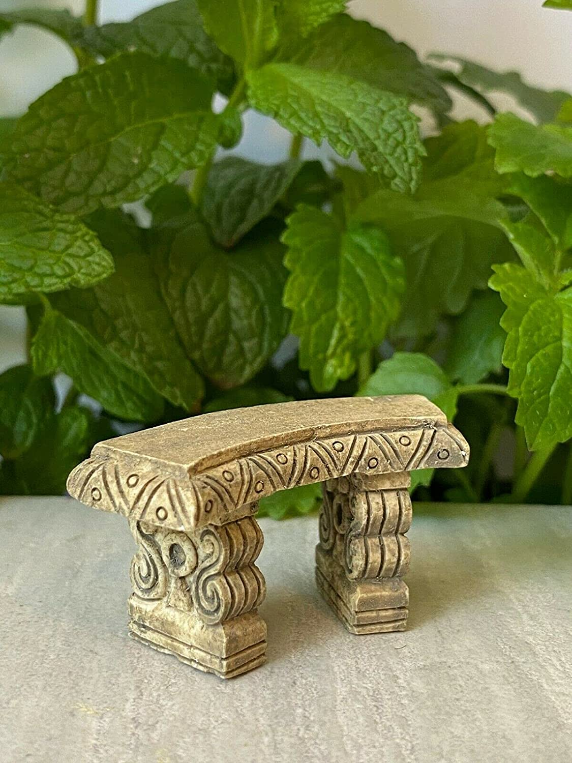 Miniature High quality new Popular products Dollhouse Fairy Garden Furniture Antiqued Tiny Mini ~