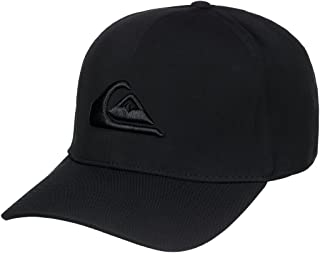 Men's Mountain and Wave Black Hat