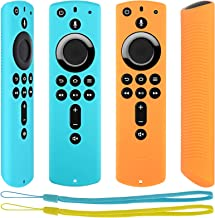 [2 Pack] Anti Slip Protective Case for Fire TV Stick 4K / Fire TV Cube/Fire TV (3rd Gen) Compatible with All-New 2nd Gen A...