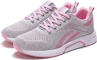 LJFZMD Deportivo Calzado, Fitness Zapatillas Zapatillas De Deporte Cómodas Para Caminar Para Mujer Zapatillas Deportivas I...