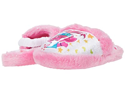 Favorite Characters Trollstm Low Slipper TLF205 (Toddler/Little Kid) (Pink) Girl