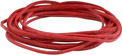 1 kg Gummiringe natur 120 mm Ø 2,0 x 5 mm breit Haushaltsgummis Gummibänder