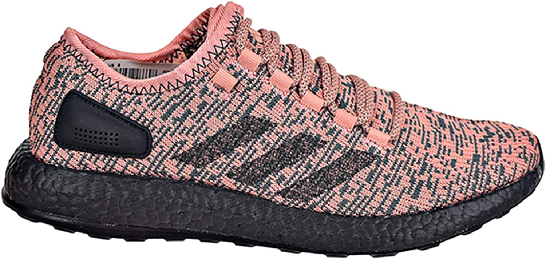 Adidas Men's Pureboost Pink Black Black 10.5 D US D (M)