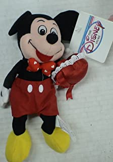 Disney Mickey Mouse Valentine Bean Bag Plush