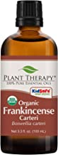 Plant Therapy Frankincense Carteri Organic Essential Oil 100% Pure, USDA Certified Organic, Undiluted, Natural Aromatherapy, Therapeutic Grade 100 mL (3.3 oz)