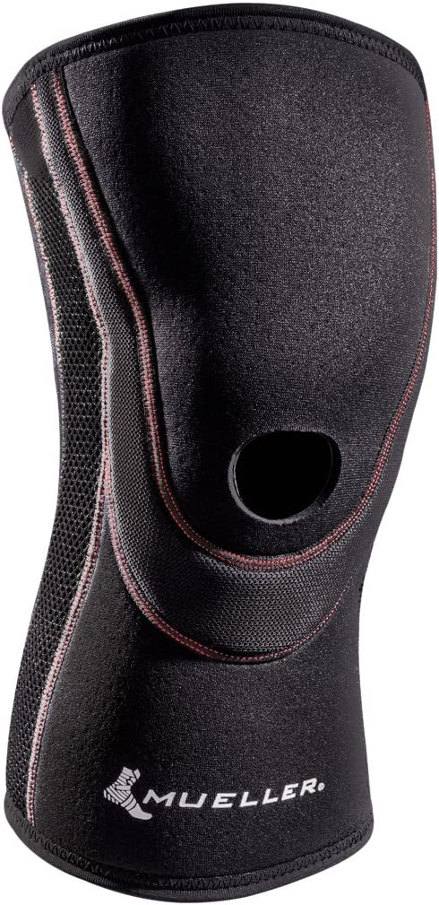 Mail order cheap MUELLER Popular product Sports Medicine Breathable Open Knee Sleeve Bla Patella