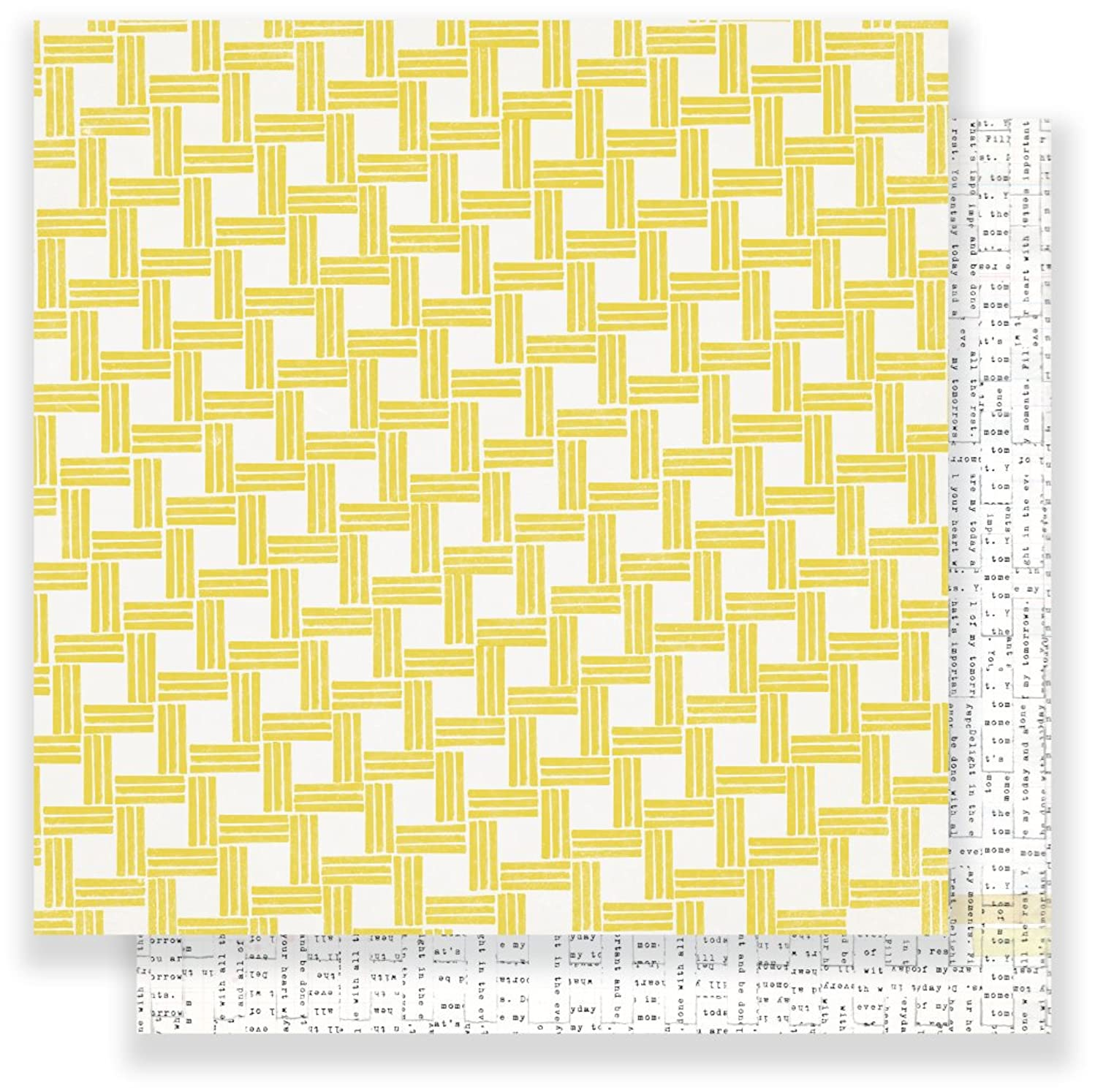 American Crafts Maggie Holmes Chasing Dreams Stay True 25 Pack of 12 x 12 Inch Patterned Paper, Piece