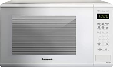 Panasonic NN-SU656W Countertop Microwave Oven with Genius Sensor, Quick 30sec, Popcorn Button, Child Safety Lock and 1100 Watts of Cooking Power-NN-SU, 1.3 cu. ft, White