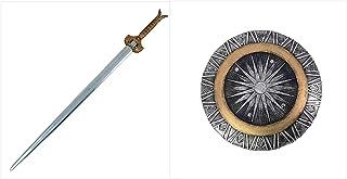 """SI 40.5"""" God Killer Costume Replica Foam Sword & Replica Foam Shield W/Nylon Straps"""