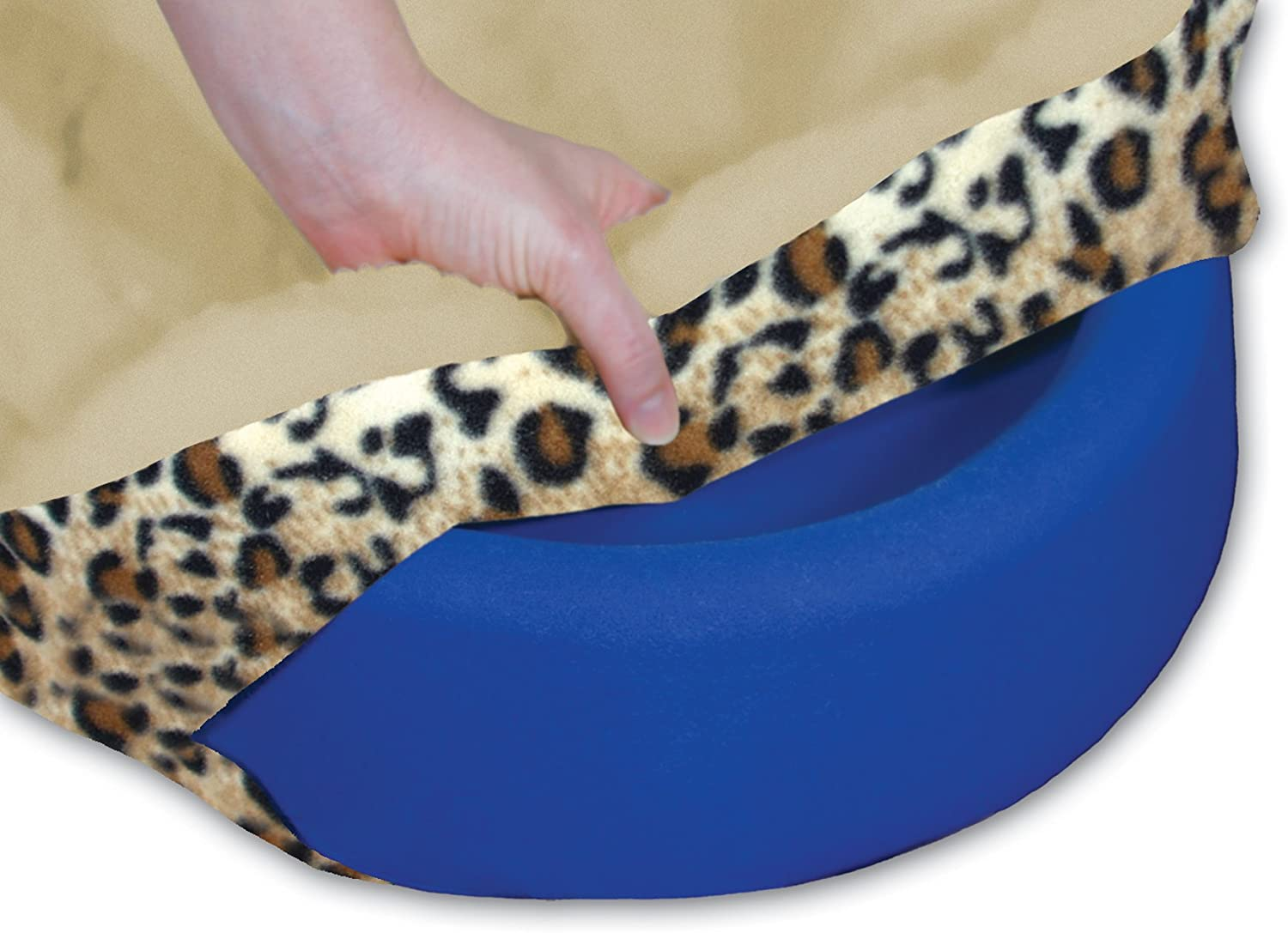 GelPedic Toy Lush Leopard Pet Bed Cover