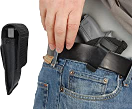 Barsony New IWB Holster + Single Magazine Pouch for 380, Ultra Compact 9mm 40 45