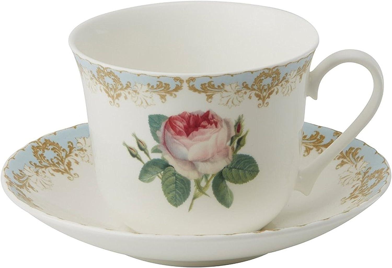 Roy Kirkham Breakfast Some reservation Cup Saucer 2 Set of Vintage Roses Challenge the lowest price Japan