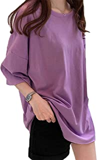 [ミニマリ] tシャツ レディース 半袖 大きいサイズ トップス ゆったり オーバーサイズ 韓国ファッション カットソー ゆるT