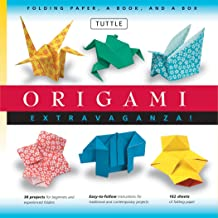 Origami Extravaganza! Folding Paper, a Book, and a Box: Origami Kit Includes Origami Book, 38 Fun Projects and 162 High-Qu...