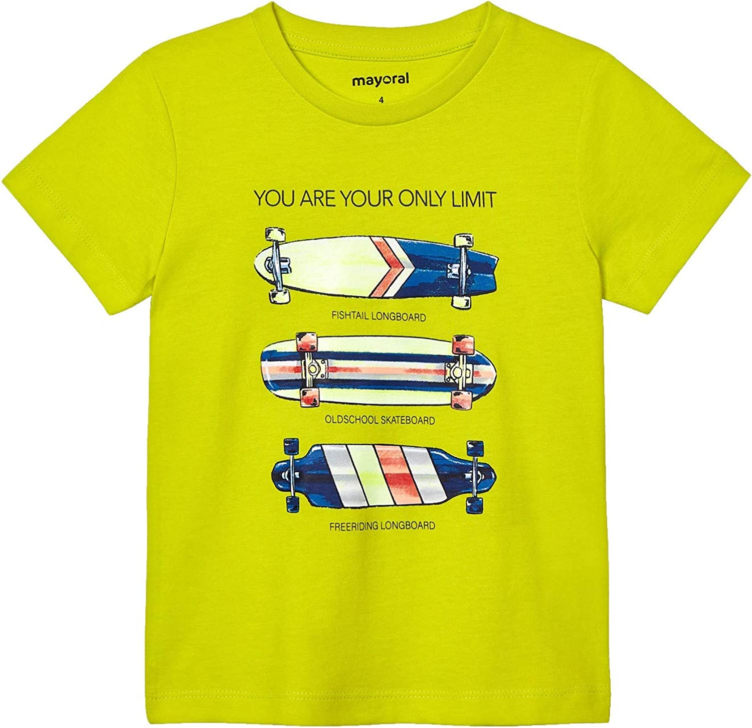 Mayoral - Skateboards s/s t-Shirt for Boys - 3044, Green