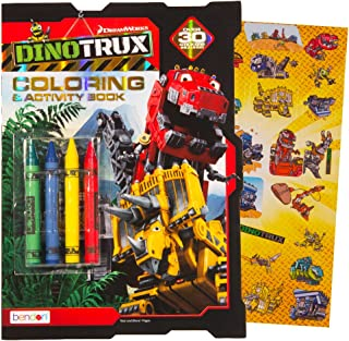 dinotrux coloring book