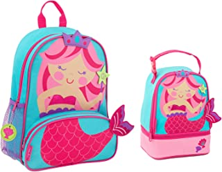 Stephen Joseph Girls Sidekick Mermaid Backpack and Lunch Pal