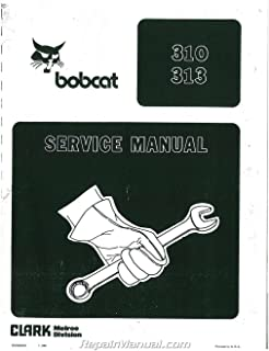 JS-BC-S-310-PLUS Bobcat 310 313 371 Service Manual