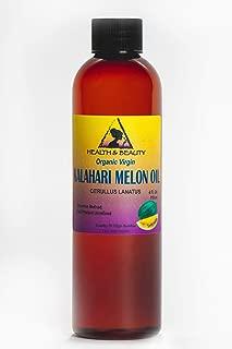 Kalahari Melon Seed Oil Unrefined Organic Virgin Raw Cold Pressed Prime Fresh Pure 4 oz