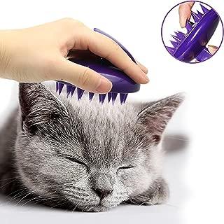 cat bath brush