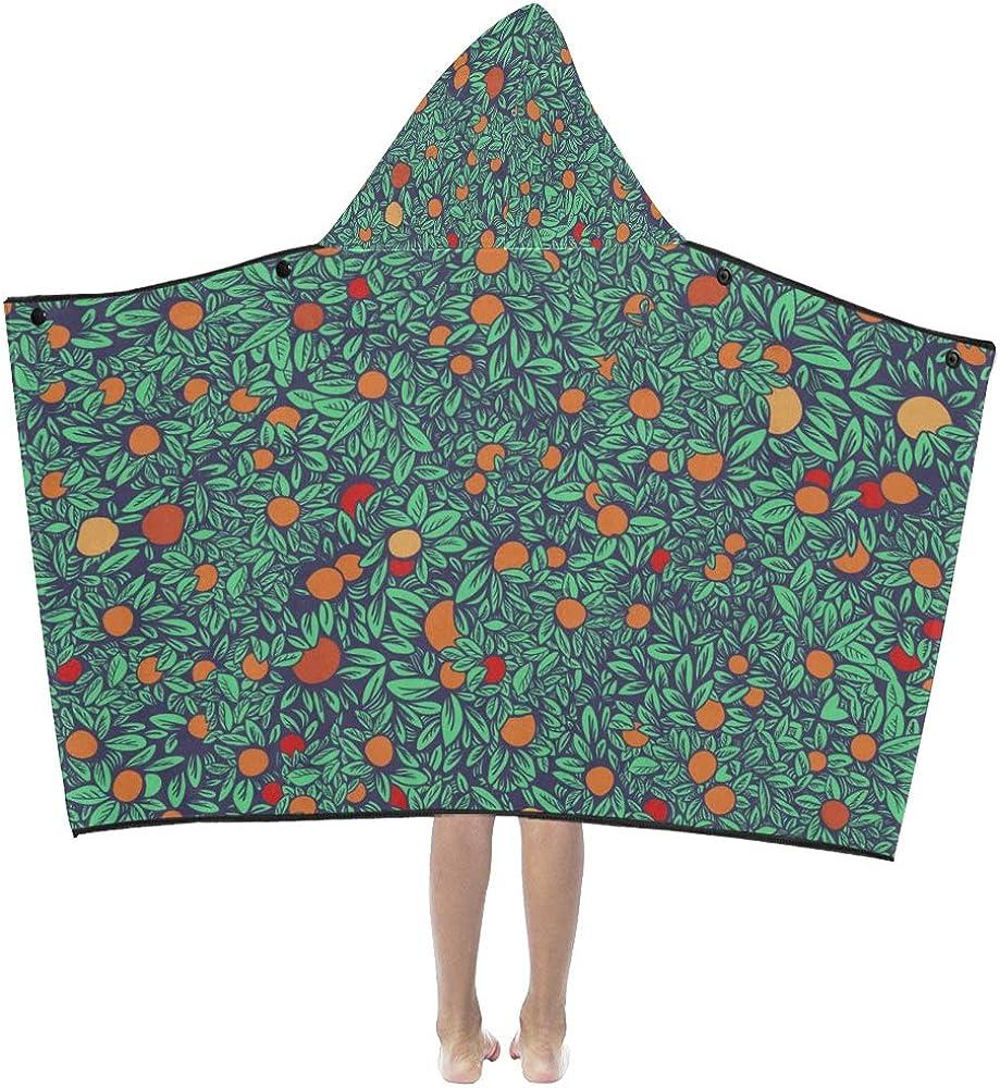 WBSNDB Towels New Free Shipping Ranking TOP15 Bath Summer Retro Sweet Kids Orange Tree Sour Hood