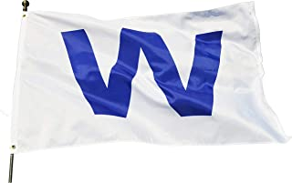 Best chicago cubs w flag with pole Reviews