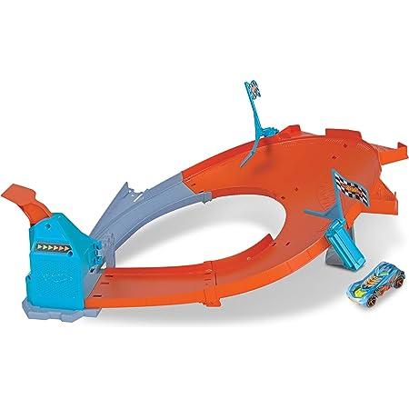 Hot Wheels - Pista Campeón de Derrapes, Pistas de Coches de Juguete Niños +4 Años (Mattel GBF84) , color/modelo surtido