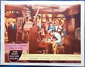 THE EDDY DUCHIN STORY MOVIE POSTER Tyrone Power and Boy Play Piano lc