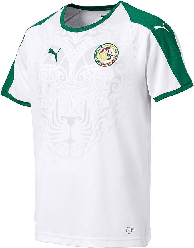 PUMA Senegal Home Shirt SS Replica Maglia Calcio Uomo